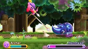 Kirby Robin Hood, away!!!